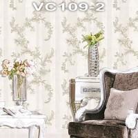 Wallpaper Dinding Classic Daun VICTORY VC109-1 - VC109-4