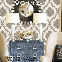 Wallpaper Dinding Classic Damask VICTORY VC112-1 - VC112-4