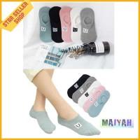 Kaos Kaki Pendek kaus cewek Wanita Smile Women Low Socks import ORI