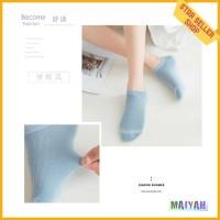 Kaos Kaki Pendek Wanita cewek Soft Colour Women kaus Socks Import Ori