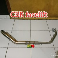 leher header knalpot racing CBR facelift CBR 150R