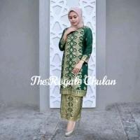 Baju 62 Set Songket Modern Asli Palembang