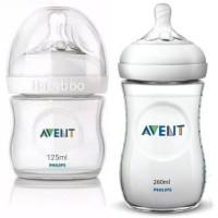 AVENT Natural Botol 125ml & 260ml Bottle Susu 125 ml & 260 ml Philips