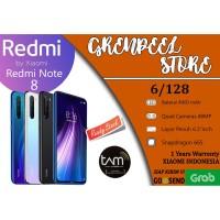 Xiaomi Redmi Note 8 6/128 RAM 6GB Internal 128GB GARANSI RESMI TAM