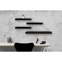 [Decorunic] Floating Shelf-Rak Dinding Minimalis ukuran 40,40,40,60 cm