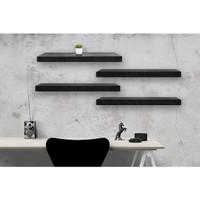 [Decorunic] Floating Shelf-Rak Dinding Minimalis ukuran 60,60,60,60 cm