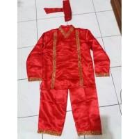 Unik Pakaian Adat Makassar - Baju Bodo Pria (anak-anak) Limited
