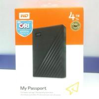 Hardisk External WD My Passport 4TB ORIGINAL GARANSI RESMI
