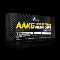 Olimp AAKG Extreme Mega Caps 120caps Arginine Pump Nitrix Nitric NO