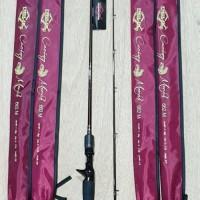 Joran Relix Nusantara Cacing Merah 662M - Baitcasting - Joran Pancing