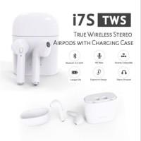 Handsfree bluetooth Airpods apple Headset bluetooth HBQ I7 TWINS