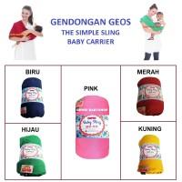 Gendongan-Bayi-Instan-Geos-Kaos-2 in 1-Baby-Wrap-Sling-Carrier-Kado
