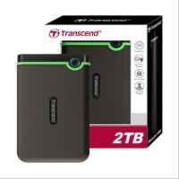 Transcend Storejet 25M3 2TB - Harddisk External Antishock
