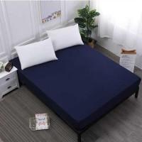 Bed Sheet Cover Waterproof - SLJF201 [150 x 200 x 30CM]