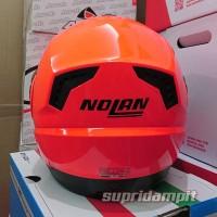 Helm Nolan N104 Hi-Visibility Fluo Orange Modular Touring No kup har