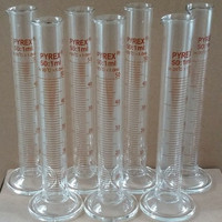 Alat Laboratorium Alat Lab/Kimia/Farmasi - Gelas ukur 50 ml - Pyrex