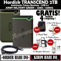 Transcend StoreJet 25M3 2TB HD Hardisk External Antishock USB 3.0