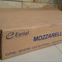 Super Murah - KEJU MOZARELLA EURIAL ASLI IMPORT 1 KARTON 10 KG