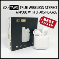 Headset Bluetooth 4.2 Sport True Wireless Earphone Airpods HBQ i8X