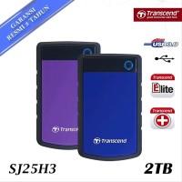 Transcend Storejet 2TB External Harddisk Anti Shock NEW and ORIGINA