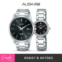 Jam Tangan Couple Alba PRESTIGE Quartz AS9J07 & Ah7D65 Original