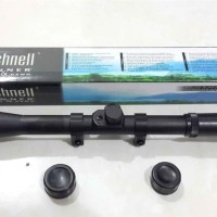senapan Rifle Scope Teleskop Bushnell 4x20 senapan angin