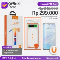 T-MAX Huawei P30 Pro UV FULL GLUE Tempered Glass Screen Protector