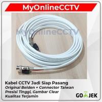 Kabel CCTV Jadi Belden 50 Meter Coaxial R59 BNC + Power Anti Tikus