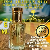 SURRATI TOM OUD ARABIAN 6ML ORI SAUDI AROMA WANGI TOMFORD WOOD GAHARU