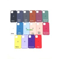 C201.5 Iphone 11 PRO MAX FULL Apple Silicon Leather Case Silicone