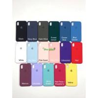 C201.5 Iphone X / XS Original FULL Apple Silicon Leather Case Silicone