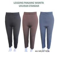 Pakaian Wanita Celana Legging Panjang Cewek Perempuan Standard Size