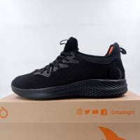Sepatu Lari/Running Ortuseight Phyton All Black 11030077 Original BNIB