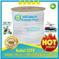 Kabel CCTV RG6 EDGE 300 M RG 6 + POWER Coaxial hiqh Quality dari RG59