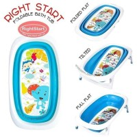 Right Starts foldable Baby bathtub bath tub bak mandi lipat 4.9