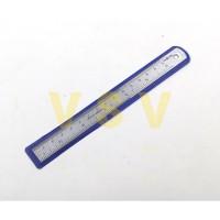 Hasston PROHEX Penggaris besi 15cm Mistar besi 15cm