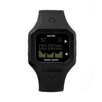 Alive Jam Tangan Pria Mitchell Black - GPU1064B5