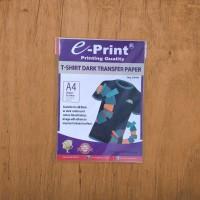 Transfer Sablon Kaos Transfer Paper Dark T-Shirt E-print A4