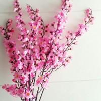 Bunga Sakura Plastik/Bunga Plastik/Bunga Artificial/Bunga Sakura