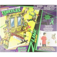 Teenage Mutant Ninja Turtles Z Line Ninjas Window Washer Rig Basic