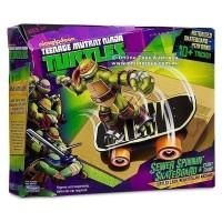Teenage Mutant Ninja Turtles Sewer Spinnin Skateboard Mainan Anak