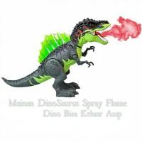Mainan Dinosaurus Spray Flame I mainan Dinosaurus bisa keluar asap