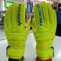 sarung tangan kiper goalkeeper gloves anak reusch 5583 finger tulang