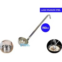 Ladle Stainless 240cc with Hooked/Soup Ladle/Centong Kuah/ Sendok kuah