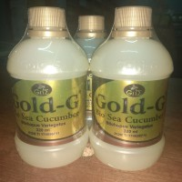 ORIGINAL Gold G Tripang Jelly Gamat Emas 320ml BPOM