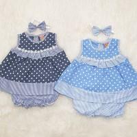 Dress Anak Bayi Baju Anak Bayi Perempuan Baju Pesta Bayi Sabrina