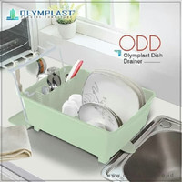 Olymplast Rak Piring Plastik Dengan Tutup Dish Drainer ODD (Food Grade