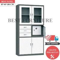 Best Lemari Arsip Besi 2 Pintu LA-2005 uk 85x40x180