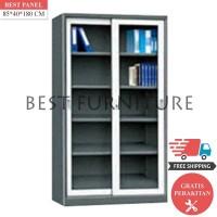 Best Lemari Arsip Besi 2 Pintu LA-2001 uk 85x40x180