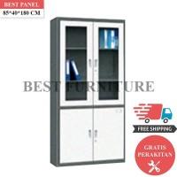 Best Lemari Arsip Besi 2 Pintu LA-2003 uk 85x40x180